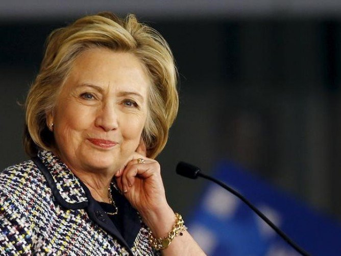 Photo: Hillary Clinton: Whoever you want her to be? REUTERS/Mike Stone